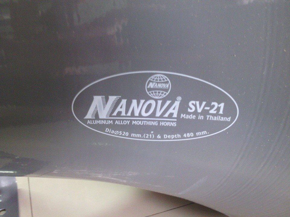 ปากลำโพงฮอร์น21นิ้วกลม NANOVA SV-21
