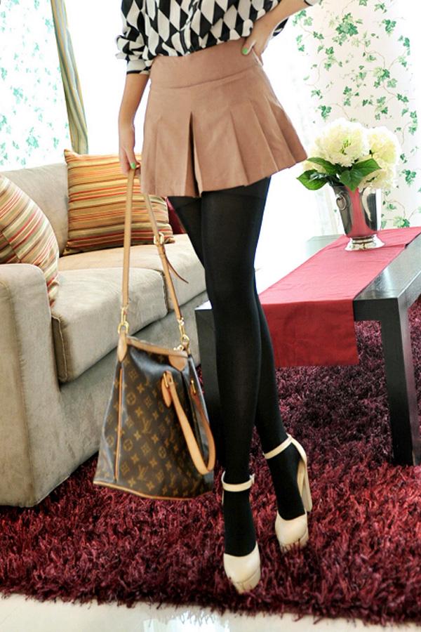 MiniSkirt กางเกงกระโปรงขาสั้น จับจีบน่ารัก