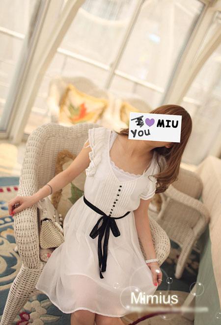 เดรสแฟชั่นเกาหลี MIMIUS พร้อมส่ง LY1471