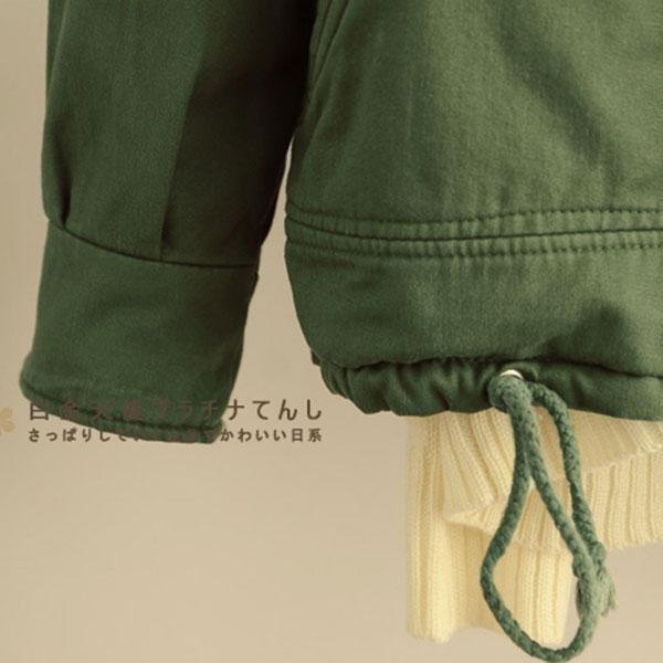 เสื้อโค้ทกันหนาวรุ่นหนาใส่ติดลบ ฮู้ดผ่าซิป ซับผ้าขนนุ่มเต็มตัว