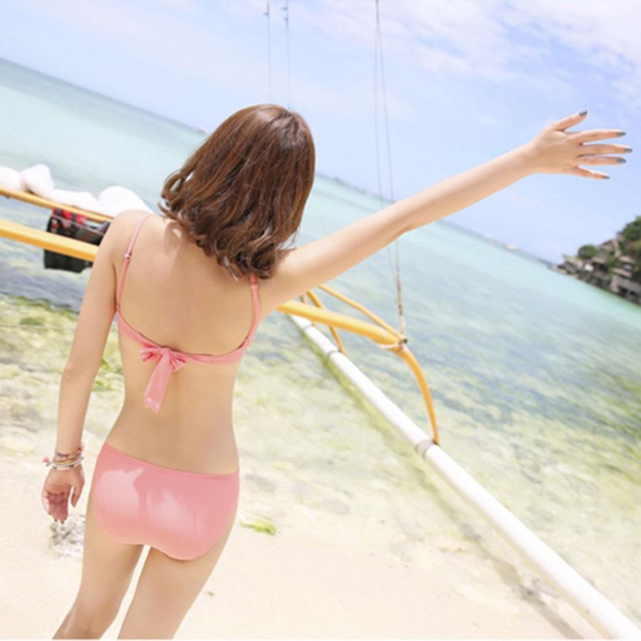 11066SY ชุดว่ายน้ำแฟชั่นลายดอก แบบ 4 ชิ้น