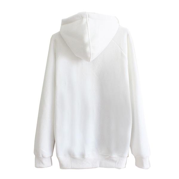 H4539 เสื้อสเวตเตอร์ เสื้อกันหนาวมีฮู้ด สกรีนลาย Monster