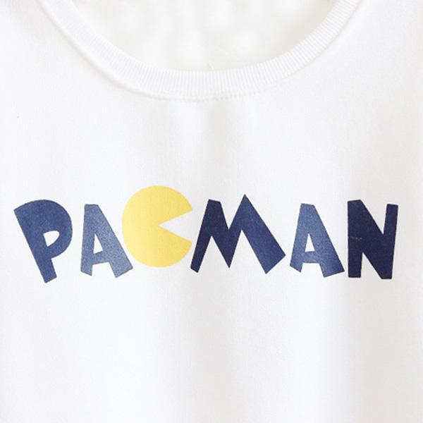 เสื้อสเวตเตอร์กันหนาว สกรีนลาย PAGMAN ซับผ้าสำลีเต็มตัว