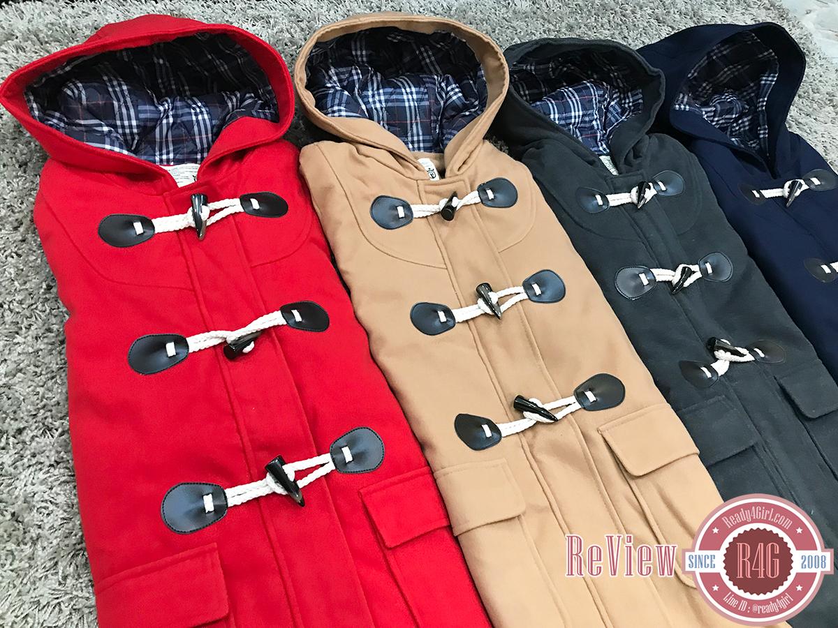 Review Ready4Girl เสื้อกันหนาวพร้อมส่ง