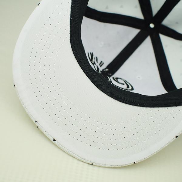 หมวกแก๊ปสไตล์ HIP HOP ผ้าปักลาย Cut Back (11139)
