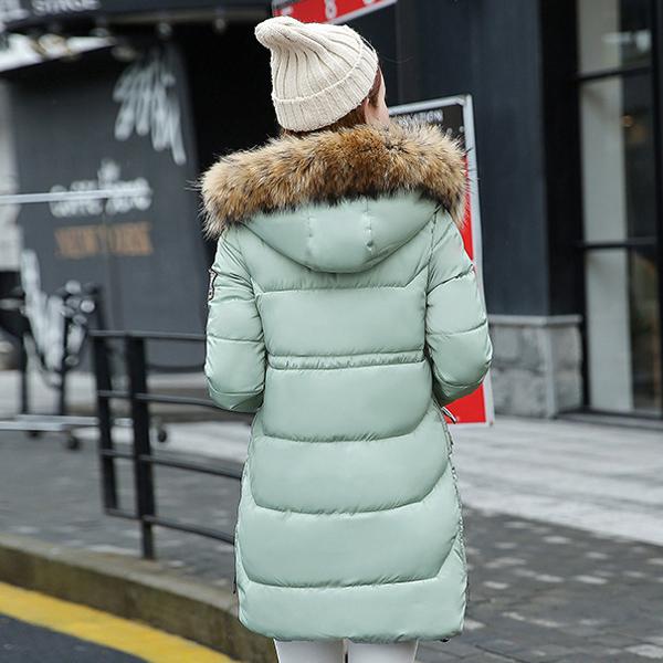 Overcoat กันหนาวรุ่นหนาลุยหิมะ แต่งเฟอร์ถอดได้