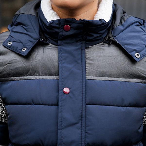 เสื้อแจ็คเก็ตกันหนาวผู้ชาย ผ้าร่มกันน้ำ มีฮู้ดถอดได้