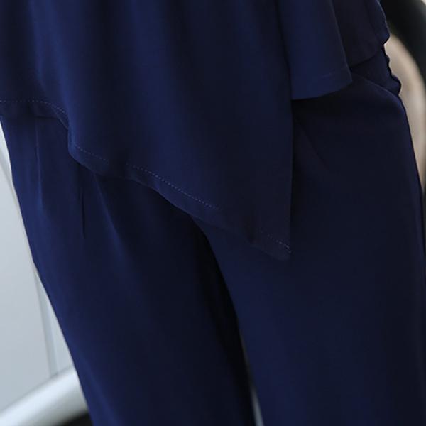 แฟชั่นชุดทำงาน เสื้อคอปกมาคู่กางเกงเข้าชุด