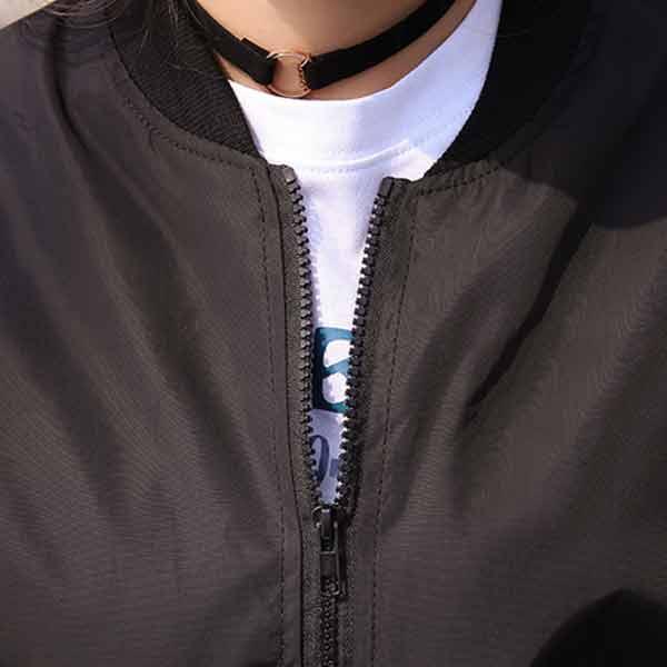 เสื้อแจ็คเก็ตกันแดดกันลม แขนยาว หลังแต่งพิมลายหัวกระโหลก