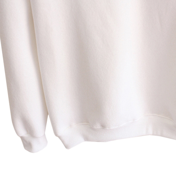 เสื้อสเวตเตอร์กันหนาว คอปก แต่งกระเป๋าน่ารัก