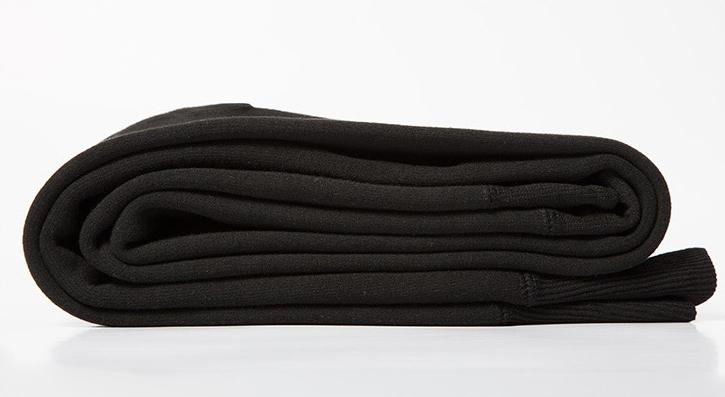 กางเกงเลกกิ้งผู้ชาย กันหนาวติดลบ ซับกำมะหยี่สีดำ