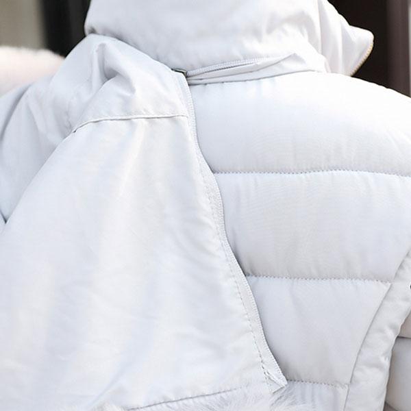 เสื้อโค้ทกันหนาวติดลบลุยหิมะได้ มีฮู้ดแต่งเฟอร์ถอดได้