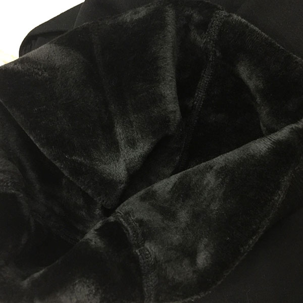 กางเกงเลกกิ้งกันหนาวติดลบ ผ้าคอตตอนซับแคชเมียร์หนานุ่ม