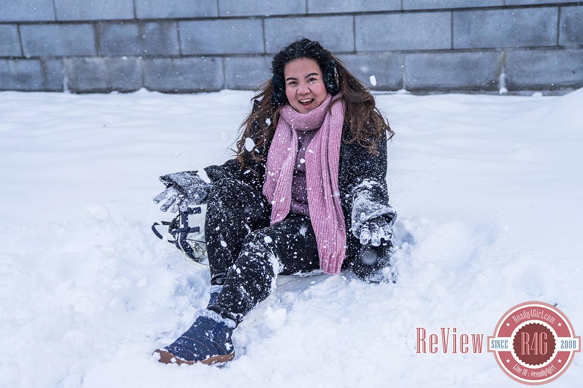 กางเกงเลกกิ้งกันหนาว ซับขนแคชเมียร์หนานุ่มใส่ติดลบได้
