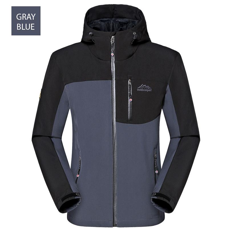 เสื้อแจ็คเก็ตกันหนาวแต่งฮู้ด OUTDOORSPORT (10336MM)