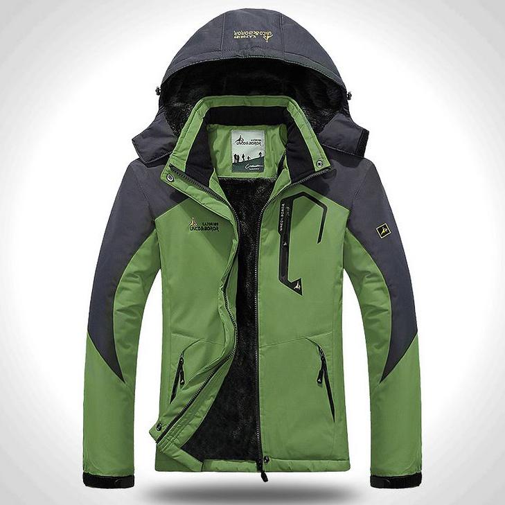 Outdoor Jacket เสื้อกันหนาวติดลบ กันหิมะ ซับขน ฮู้ดถอดได้ (10145MM)