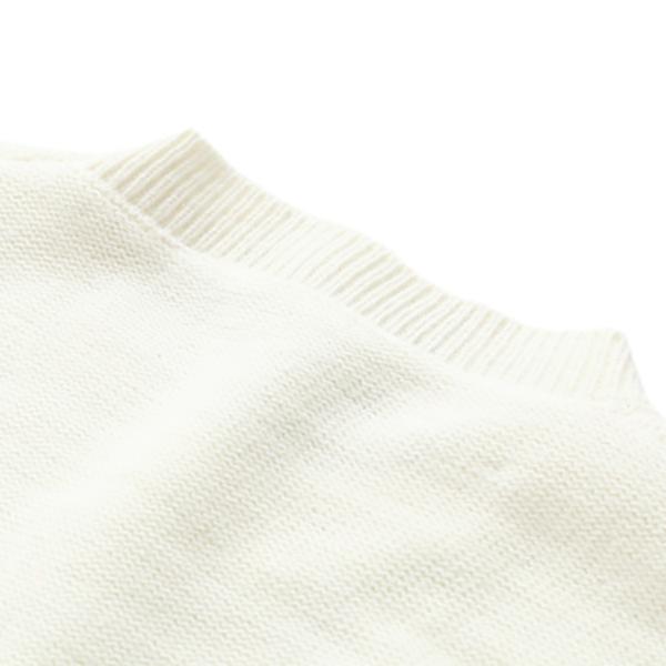 เสื้อสเวตเตอร์กันหนาว ไหมพรมนิ่มปักลายผึ้งน้อย