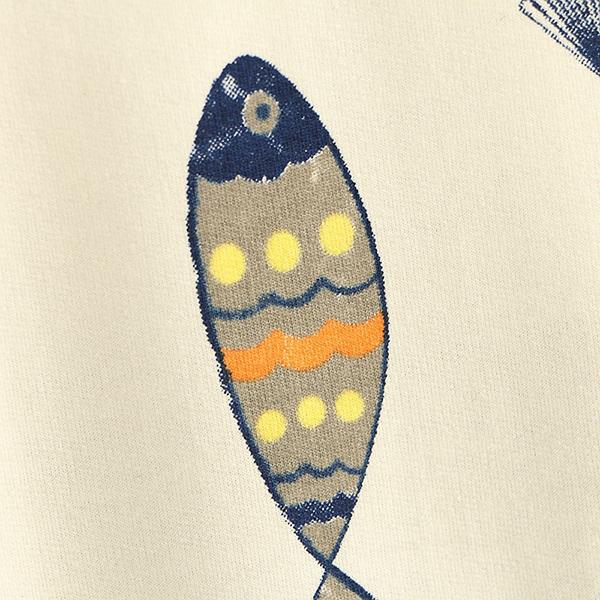 เสื้อสเวตเตอร์ครึ่งวงกลมลายวินเทจ มีฮู้ดแต่งหูน่ารัก
