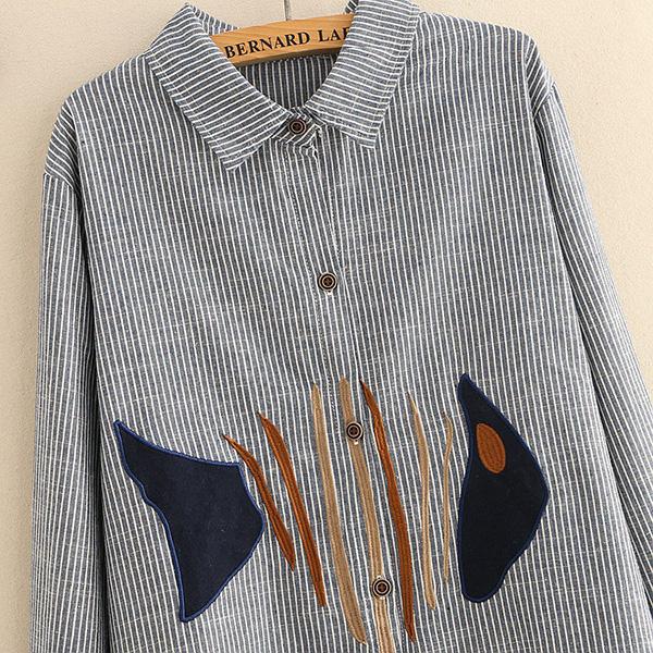 เดรสเชิ้ตแฟชั่นญี่ปุ่น แขนยาว แต่งลายก้างปลา