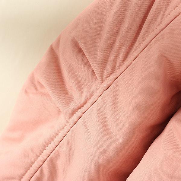 เสื้อโค้ทกันหนาววินเทจ มีฮู้ด ซับผ้าขนนุ่มใส่ติดลบได้
