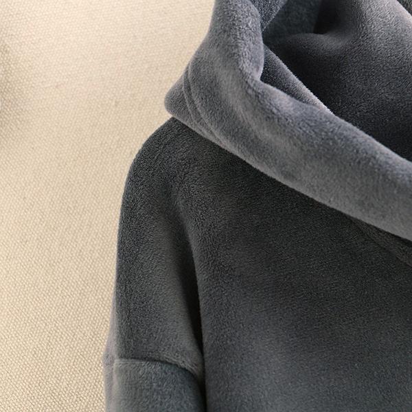 เสื้อสเวตเตอร์กันหนาว ผ้ากำมะหยี่ปักลายดอกไม้วินเทจ