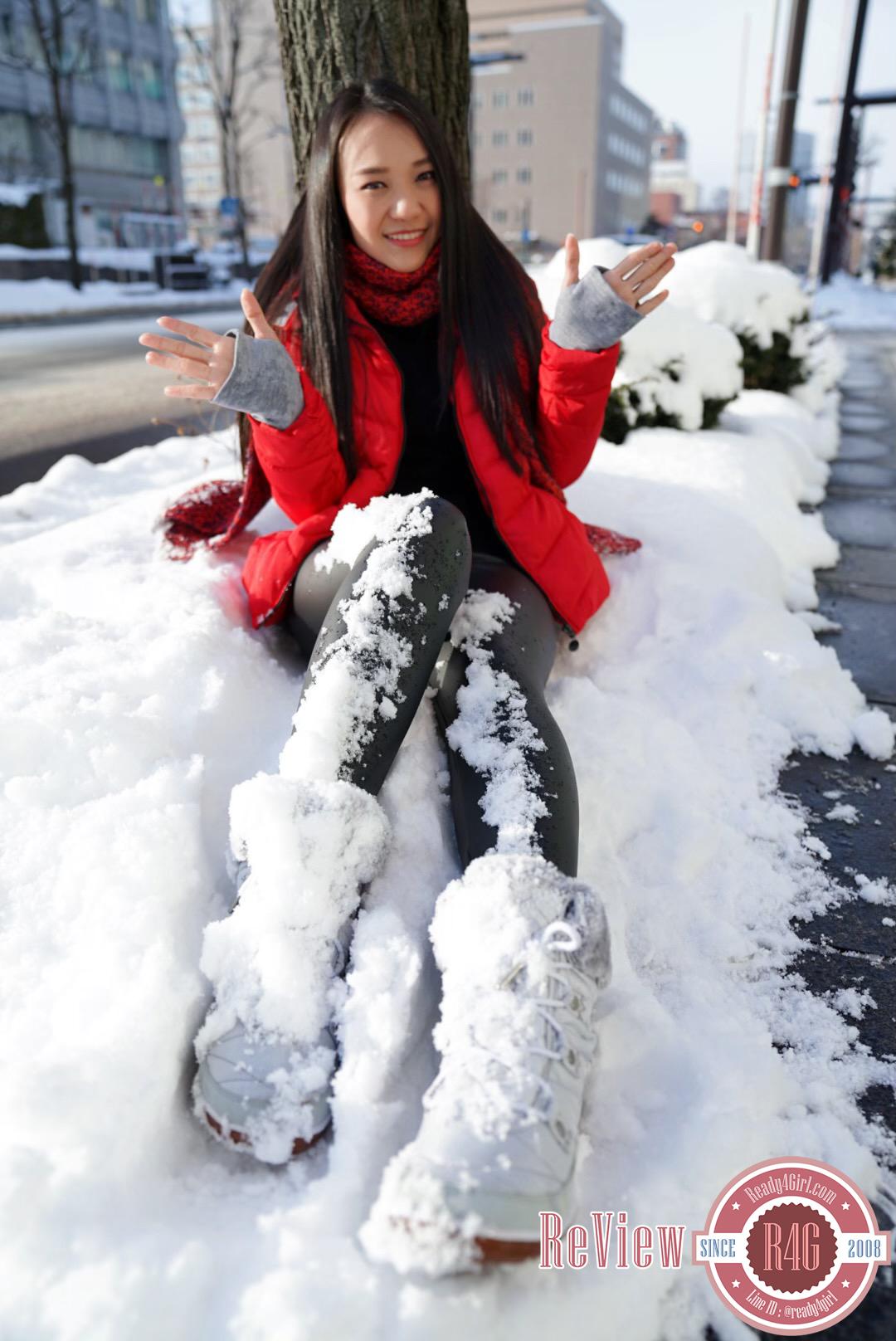 กางเกงหนังซับขนแคชเมียร์ กันหนาวติดลบลุยหิมะได้