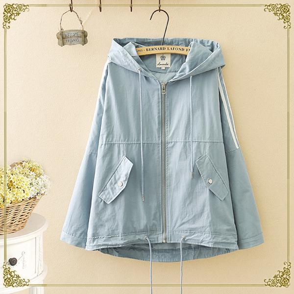 เสื้อคลุม เสื้อกันแดด เสื้อแจ็คเก็ตฮู้ด เสื้อแจ็คเก็ตกันหนาว
