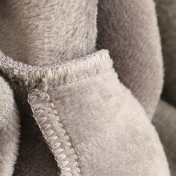 เสื้อสเวตเตอร์ปกเชิ้ตลายสก็อต ปักลายแมว ซับกำมะหยี่เต็มตัว