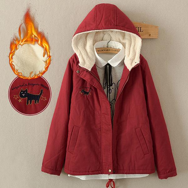 เสื้อโค้ทกันหนาว เสื้อกันหนาววินเทจ เสื้อกันหนาวมีฮู้ด เสื้้อกันหนาวบุขนใส่ติดลบ