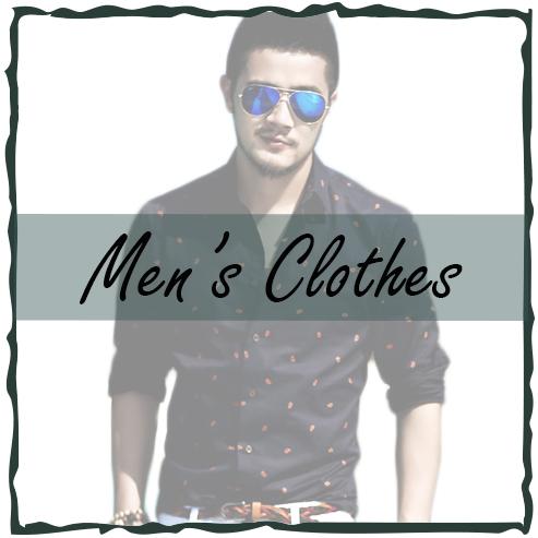 สินค้าแฟชั่นสำหรับผู้ชาย เสื้อผ้าผู้ชาย