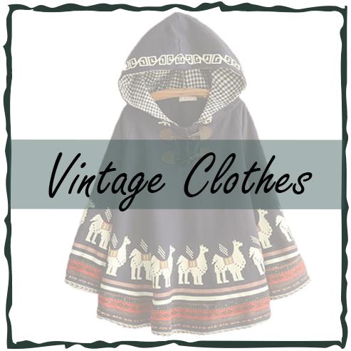 เสื้อผ้าสไตล์วินเทจ-เสื้อผ้าแฟชั่นญี่ปุ่น