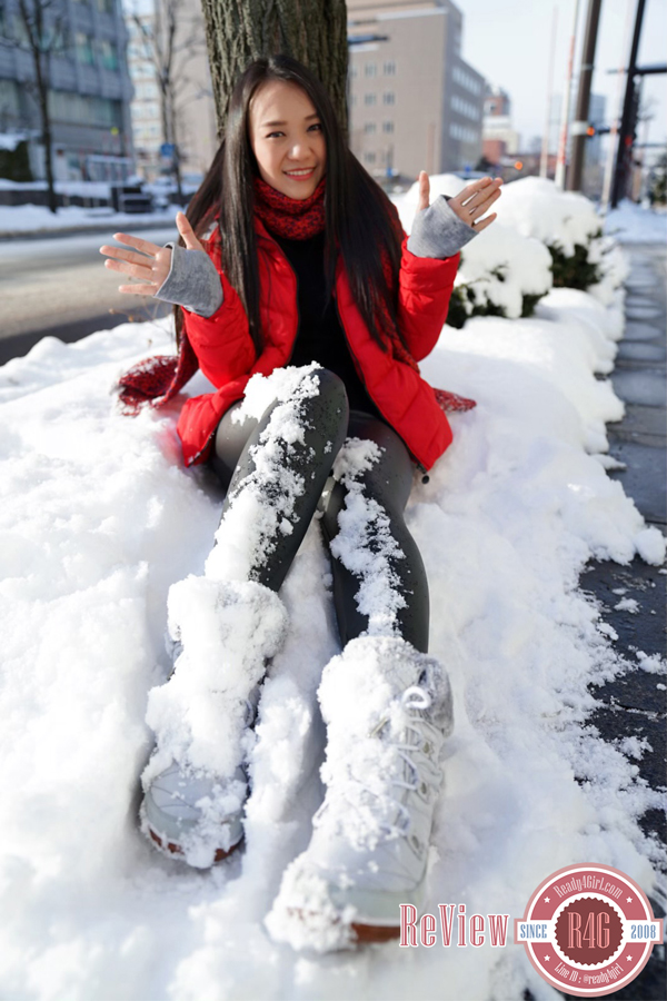 กางเกงหนังบุขนแคชเมียร์ กันหนาวติดลบลุยหิมะได้ (12324L)