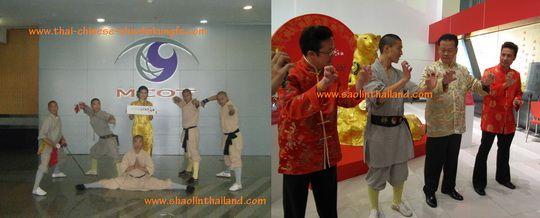 การแสดงกังฟูวัดเส้าหลิน ตรุษจีน 2553 เซ็นทรัล แจ้งวัฒนะ ชลบุรี 4/ Shaolin Kungfu performance on Chinese New Year 2010 at Central Plaza Jangwattana and Central Chonburi Thailand 4