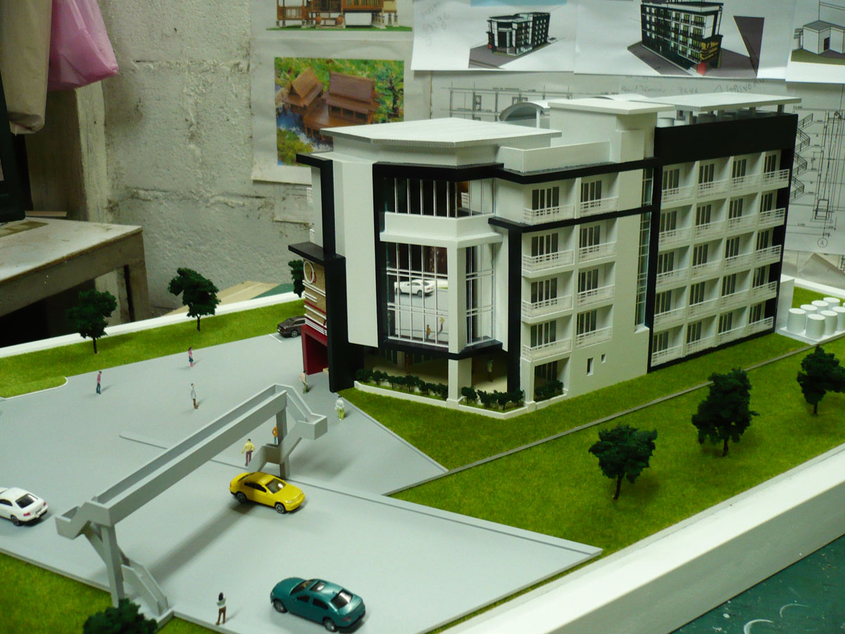 ประสบการณ์มากกว่า 15ปี Model รับทำโมเดล แบบจำลองบ้านอาคาร โมเดลบ้านอาคาร โมเดลสถาปัตย์ แบบต้องแข็งแรง สวยงาม จากการเลือกใช้วัสดุให้เหมือนจริง และการเลือกสี ทำสี แม่นยำ งานเสร็จเร็วตามกำหนด