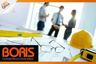 บริษัท บอริส จำกัด เป็นบริษัทรับเหมาก่อสร้าง ที่ให้บริการด้านวิชาชีพในการรับเหมาก่อสร้าง โดยบุคลากรหลักที่มีความรู้ ประสบการณ์และความชำนาญ