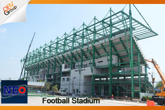 รับเหมาก่อสร้างสนามฟุตบอล