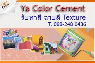 รับทาสี ฉาบสี ทำลวดลายสี ทำเทคเจอร์ Texture