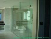 กระจกกั้นอาบน้ำ Shower Master