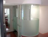 ตู้อาบน้ำ กระจกโค้ง วงกลม Shower Master