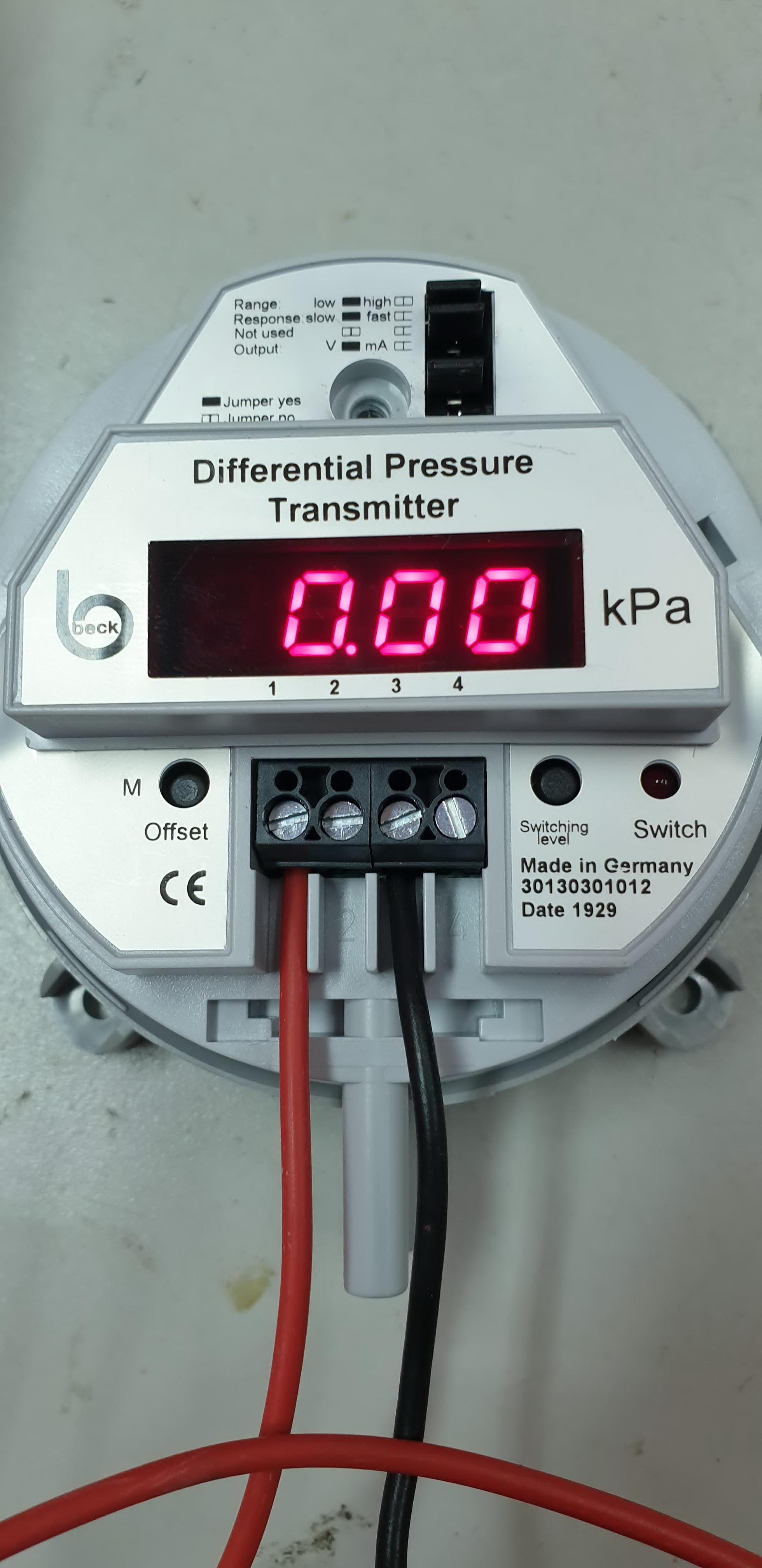 Beck Pressure Transmitter