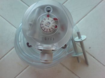 BECK Differential pressure switch and transmitter