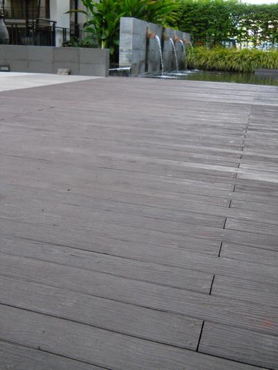 พื้นไม้ - พื้นไม้เทียม - โครงการคอนโดอมันตรา
