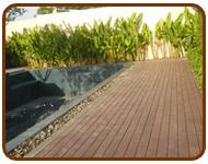 พื้นไม้ พื้นไม้เทียม พื้นไม้รอบสระน้ำ บริษัท ฮิบเฮง