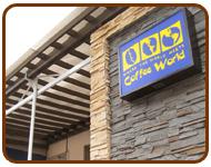 ระแนงกันสาดร้าน coffee world