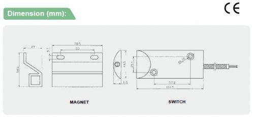 ระบบกันขโมย-อุปกรณ์เสริม-BSD-3013-Order information