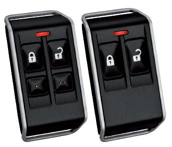 RFKF-FB : WIRELESS KEYFOB FOUR BUTTON (Bosch Intrusion Alarm Systems)