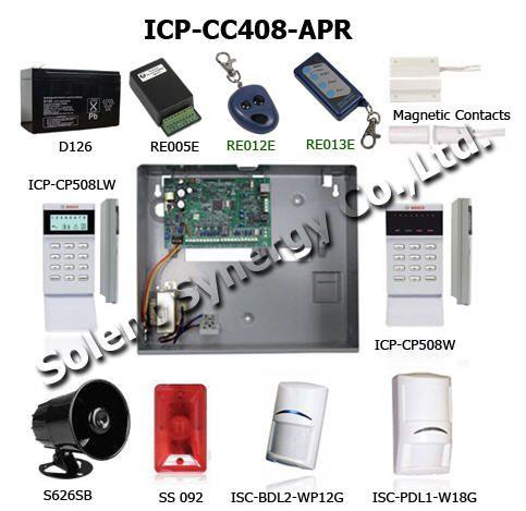 ระบบกันขโมย Bosch - ICP-CC408-APR