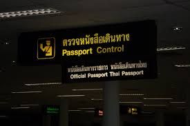 passport control for Thai resident