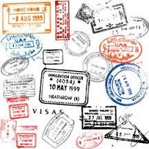 Immigration rubber stamp