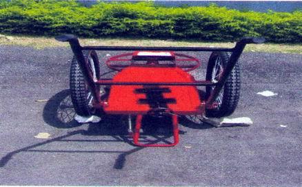 รถตัดหญ้า 2 ล้อจักรยาน ขนาด 26 นิ้ว